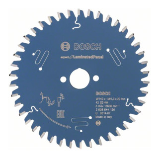 Bosch Kreissägeblatt Expert Kunststoff Für Tauch- und Handkreissägen