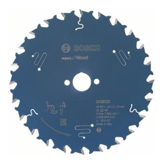 Bosch Kreissägeblatt Expert for Wood 160 x 20 x 1,8 mm 24