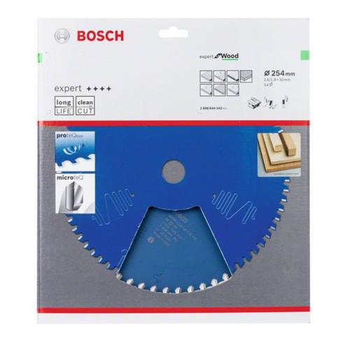Bosch Kreissägeblatt Expert for Wood 254 x 30 x 2,6 mm 54