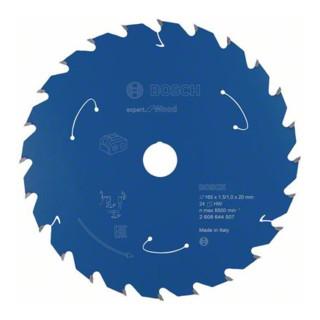Bosch Kreissägeblatt Expert for Wood für Akkusägen 165x1,5/1x20 24Zähne