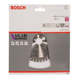Bosch Kreissägeblatt Multi Material 130 x 20/16 x 2 mm 42