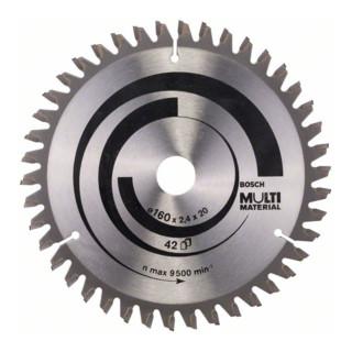 Bosch Kreissägeblatt Multi Material für Handkreissägen
