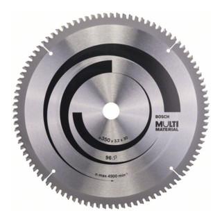 Bosch Kreissägeblatt Multi Material, 350 x 30 x 3,2 mm, 96