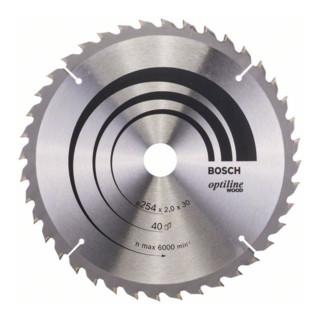 Bosch Kreissägeblatt Optiline Wood für Kapp- und Gehrungsäge