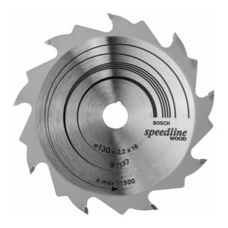 Bosch Kreissägeblatt Speedline Wood für Handkreissägen