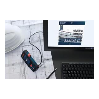 Bosch Laser-Entfernungsmesser GLM 120 C, mit Baustativ BT 150