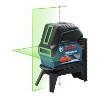 Bosch Linienlaser GCL 2-15 G, mit Halterung RM 1, L-BOXX-Einlage