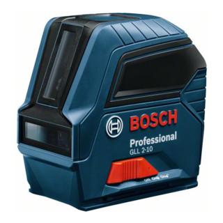 Bosch Linienlaser GLL 2-10, mit Schutztasche