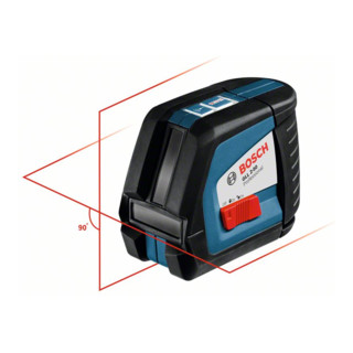 Bosch Linienlaser GLL 2-50 mit Baustativ BT 150