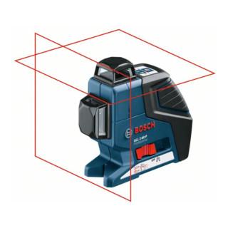 Bosch Linienlaser GLL 2-80 P, mit L-Boxx-Einlage, Schutztasche