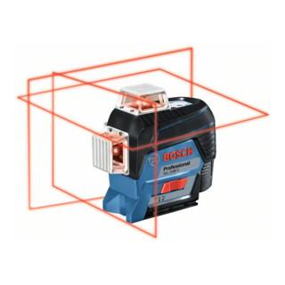 Bosch Linienlaser GLL 3-80 C, mit 1 x 2,0 Ah Li-Ion Akku, BM1, L-BOXX