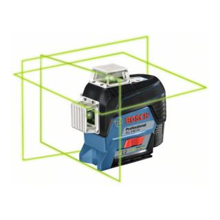 Bosch Linienlaser GLL 3-80 CG mit 1 x 2,0 Ah Li-Ion Akku Halterung BM 1 L-BOXX