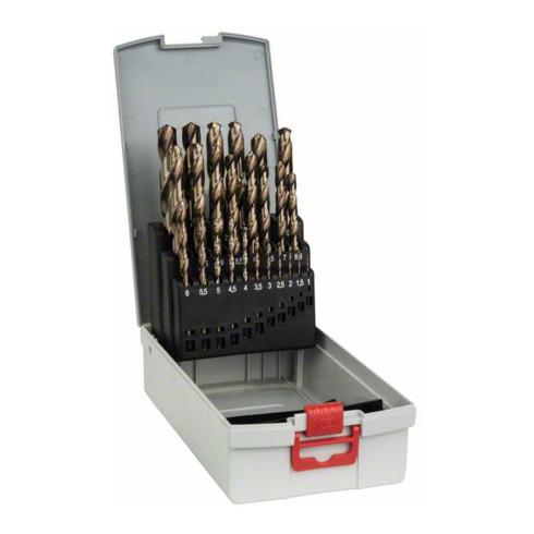 Bosch Metallbohrer-Set HSS-Co (Cobalt-Legierung), ProBox 25-teilig DIN 338 1-13 mm