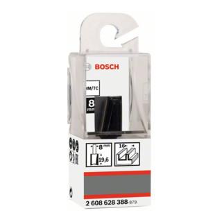 Bosch Nutfräser Standard for Wood 8 mm D1 16 mm L 20 mm G 51 mm