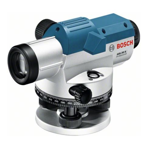 Bosch Optisches Nivelliergerät GOL 20 G mit Baustativ BT 160 Messstab GR 500