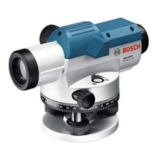 Bosch Optisches Nivelliergerät GOL 26 D, mit Stativ BT 160, Messlatte GR 500
