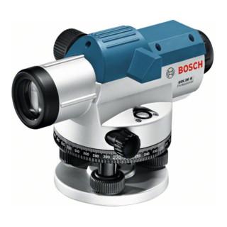 Bosch Optisches Nivelliergerät GOL 26 G, mit Stativ BT 160, Messlatte GR 500