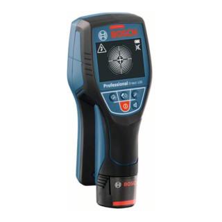 Bosch Ortungsgerät Wallscanner D-tect 120 mit Alkalinebatterien und Akku-Adapter