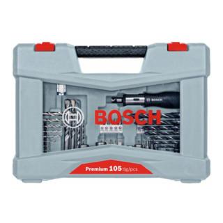 Bosch Premium X-Line Bohrer- und Schrauber-Set, 105-teilig