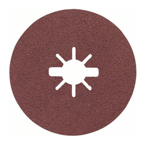 Bosch Prisma Ceramic Fiberscheiben, R781 Metall, 125 x 22,23 mm, X-LOCK, K 80