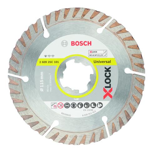 Bosch Professional Diamant Trennscheibe Standard for Universal X-LOCK