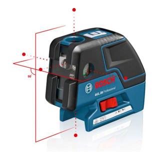 Bosch Punktlaser GCL 25 mit Schutztasche und Baustativ BS 150