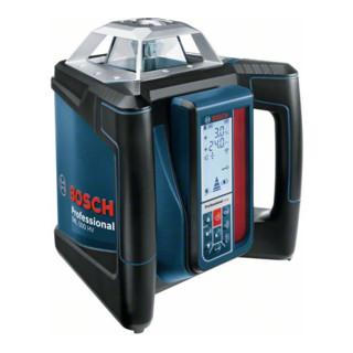 Bosch Rotationslaser GRL 500 HV, mit LR 50, BT 170 HD, GR 240 und Schnellladegerät