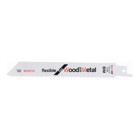 Bosch Säbelsägeblatt S 922 HF, Flexible for Wood and Metal