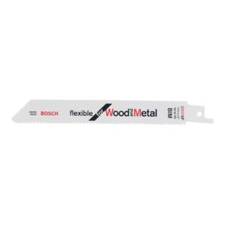 Bosch Säbelsägeblatt S 922 VF, Flexible for Wood and Metal