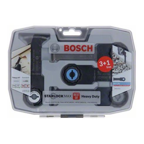 Bosch Sägeblätter-Set Best of Heavy Duty StarlockMax