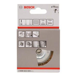 Bosch Messing-Scheibenbürste mit gewelltem Draht