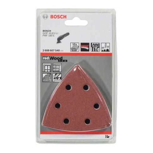 Bosch Schleifblatt C430 93 mm 60 80 100 120 180 6 Löcher Klett