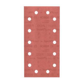 Bosch Schleifblatt C470, 14 Löcher, Klett, 115 x 230 mm, 320
