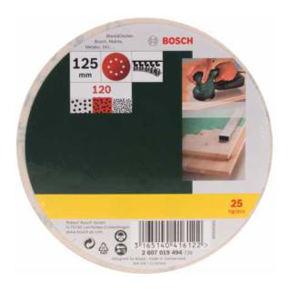 Bosch Schleifblatt-Set für Exzenterschleifer