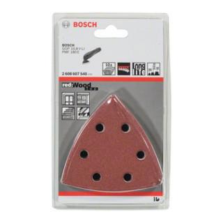 Bosch Schleifblatt-Set für Multi-Cutter, 10-teilig, 93 mm, 60, 80, 100, 120, 180