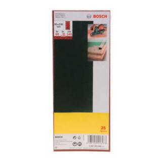 Bosch Schleifblatt-Set für Schwingschleifer, 8 Löcher, 93 x 230 mm, 60-240
