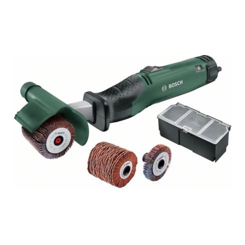 Bosch Schleifroller Texoro, Bosch SDS und Autolock für leichten Zubehörwechsel