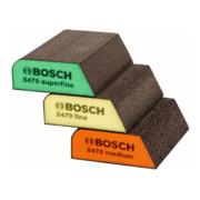 Bosch Schleifschwamm-Set S470 Best for Profile 3-teilig 69 x 97 x 26 mm M, F SF