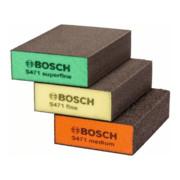 Bosch Schleifschwamm-Set S471 Best for Flat& Edge 3-teilig 69 x 97 x 26 mm M, F,SF
