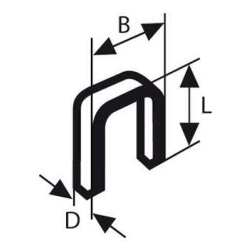 Bosch Schmalrückenklammer Typ 55 geharzt