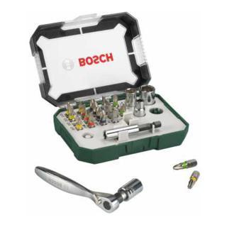 Bosch 26-teiliges Schrauberbit- und Ratschen-Set 2607017322