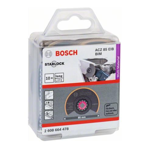 Bosch Segmentsägeblatt ACI 85 EB, Multi Material, BIM-TiN, flach, 85 mm
