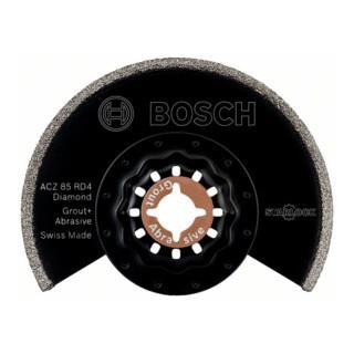 Bosch Segmentsägeblatt ACZ 85 RD Diamant-RIFF, 85 mm, geeignet für Fräsarbeiten