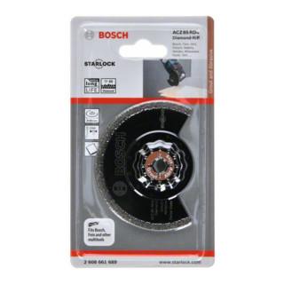 Bosch Segmentsägeblatt ACZ 85 RD Diamant-RIFF 85 mm geeignet für Fräsarbeiten