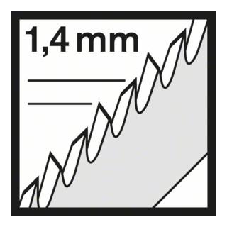 Bosch Stichsägeblatt T 101 AO, Clean for Wood