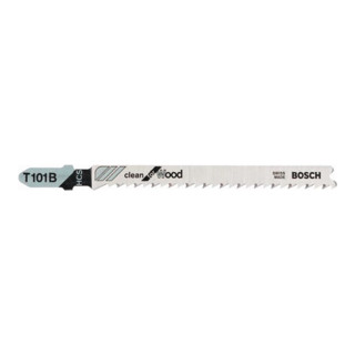 Bosch Stichsägeblatt T 101 B, Clean for Wood