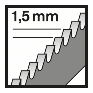 Bosch Stichsägeblatt T 118 EOF Flexible for Metal