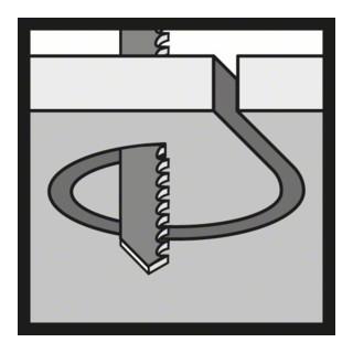 Bosch Stichsägeblatt T 119 BO, Basic for Wood