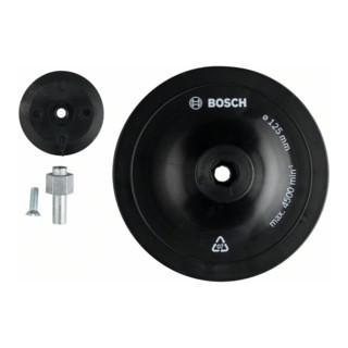 Stützteller 125 mm 8 mm
