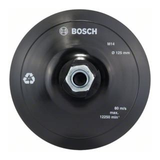 Bosch Stützteller mit Klettverschluss 125 mm 12.500 U/min